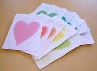 Heartcolourcard